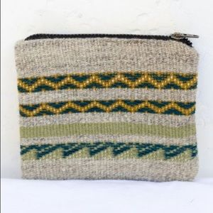 Handwoven Peruvian Wool Coin Purse